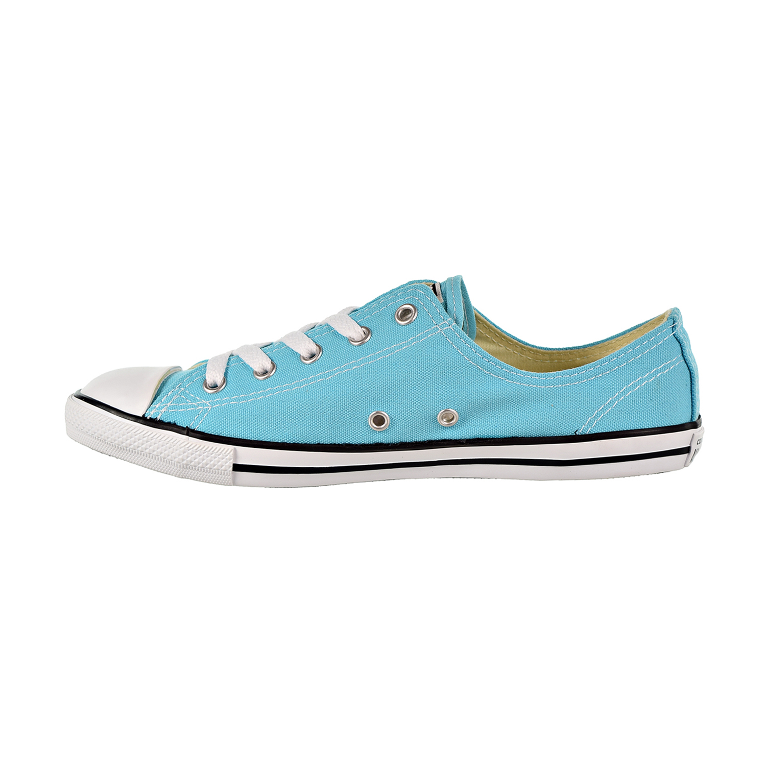 1a32f00f8429 Converse Chuck Taylor All Star Dainty Ox Women s Shoes Fresh  Cyan Black White 556155f