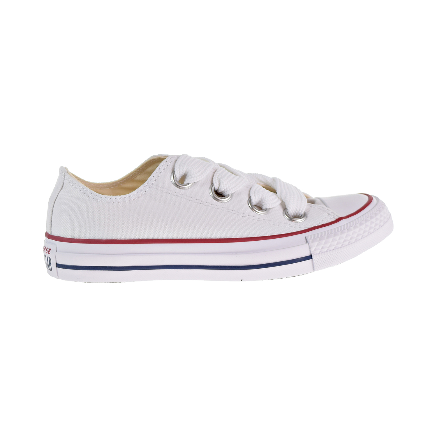 d5d9cc00a74c2d Details about Converse Chuck Taylor All Star Big Eyelets Ox Women s Shoes  White Blue 559935c