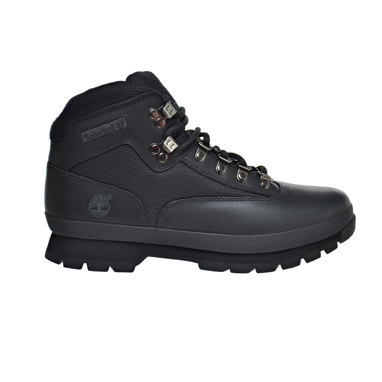 Details zu Timberland Euro HiKer Men's Leather Boots Black 56038
