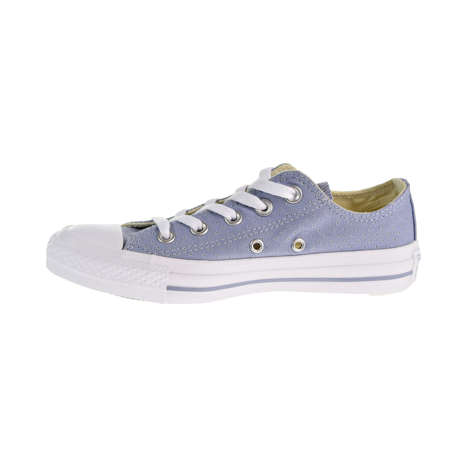 193f8433deb Converse Chuck Taylor All Star Ox Perforated Women s Shoes Glacier Grey White  560679c