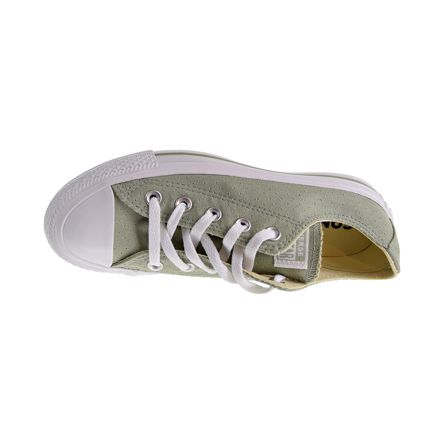 4dcf8e890a71 Converse Chuck Taylor All Star Perforated Ox Women s Shoes Surplus  Sage White 560681c