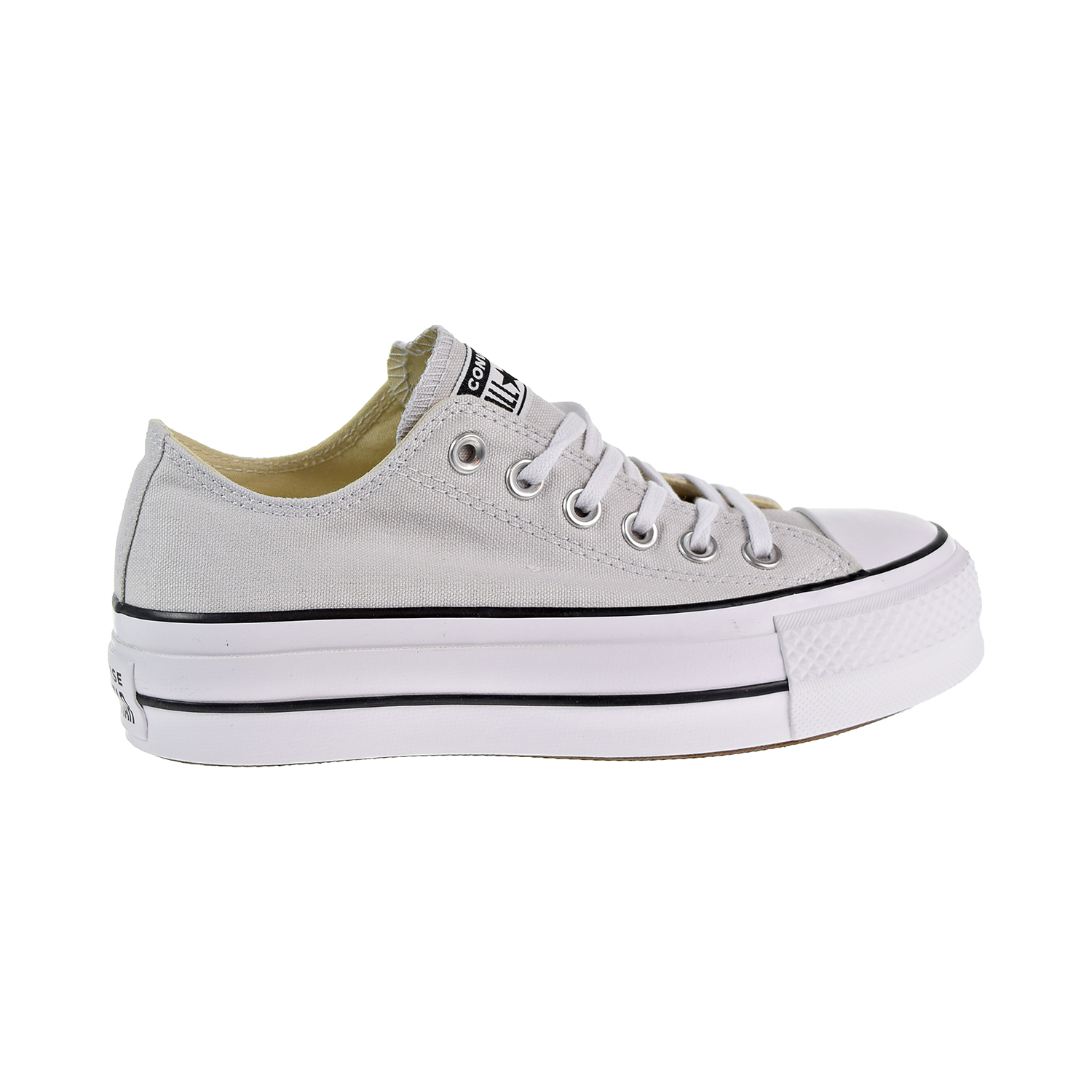 d4151d3cbb7e Converse Chuck Taylor All Star Lift Ox Women s Shoes Mouse White Black  560686c