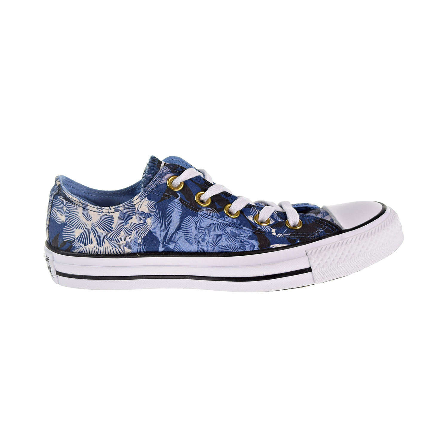 c48a7264c4be Details about Converse Chuck Taylor All Star Ox Floral Women s Shoes Mason  Blue 561643f