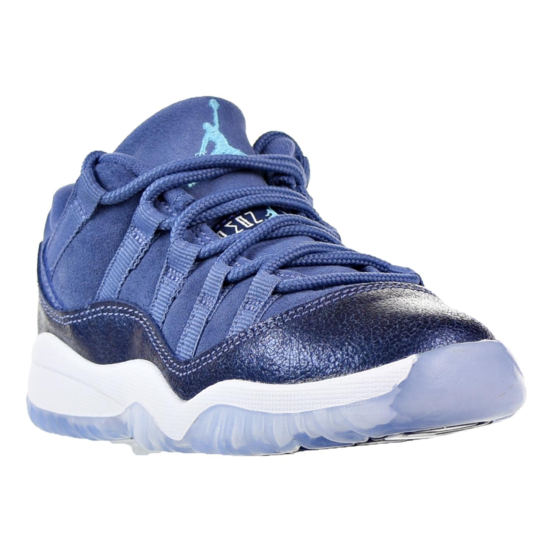 74cd3b1d2afabf Jordan 11 Retro Low GP Little Kid s Shoes Blue Moon Polarized Blue 580522- 408