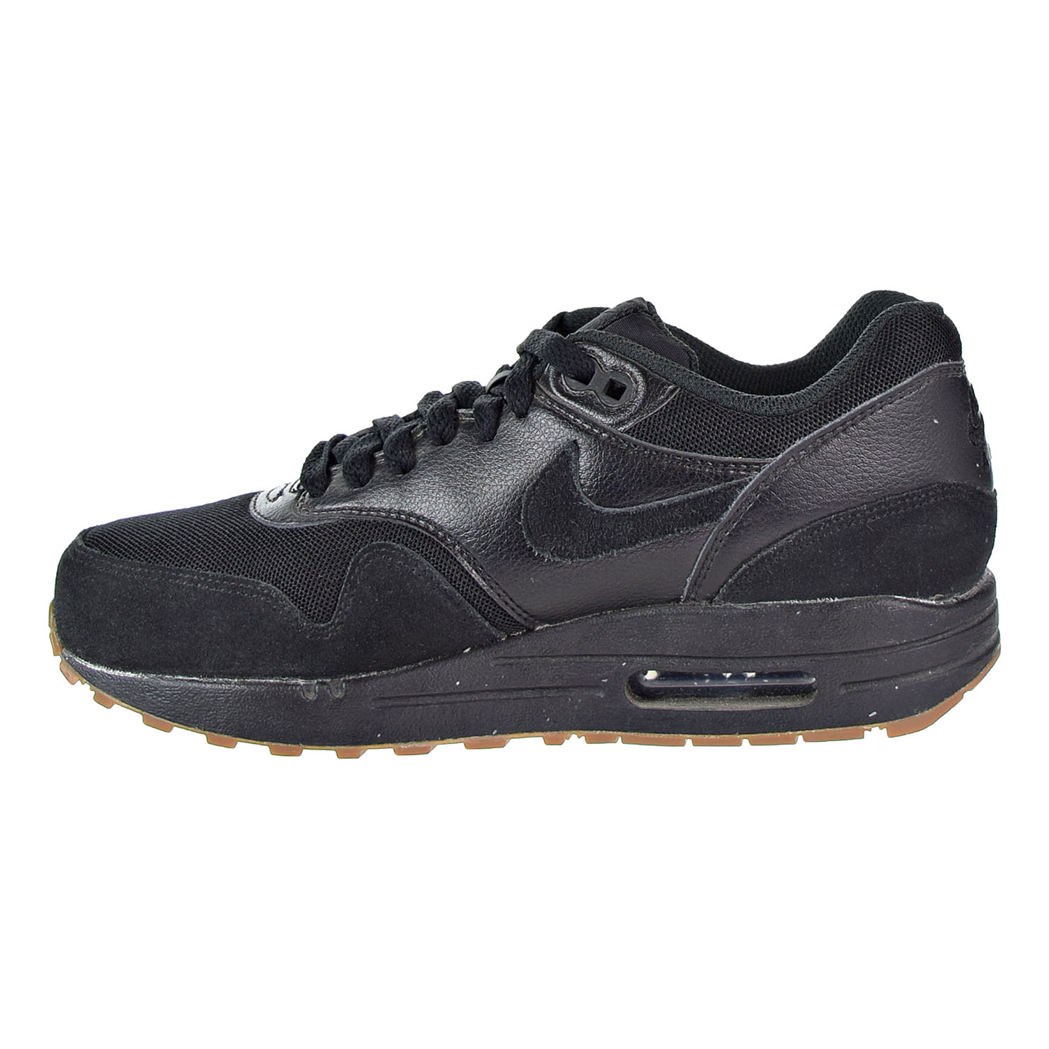 Details about Nike Air Max 1 Essential Women's scarpa BlackBlack 599820 020