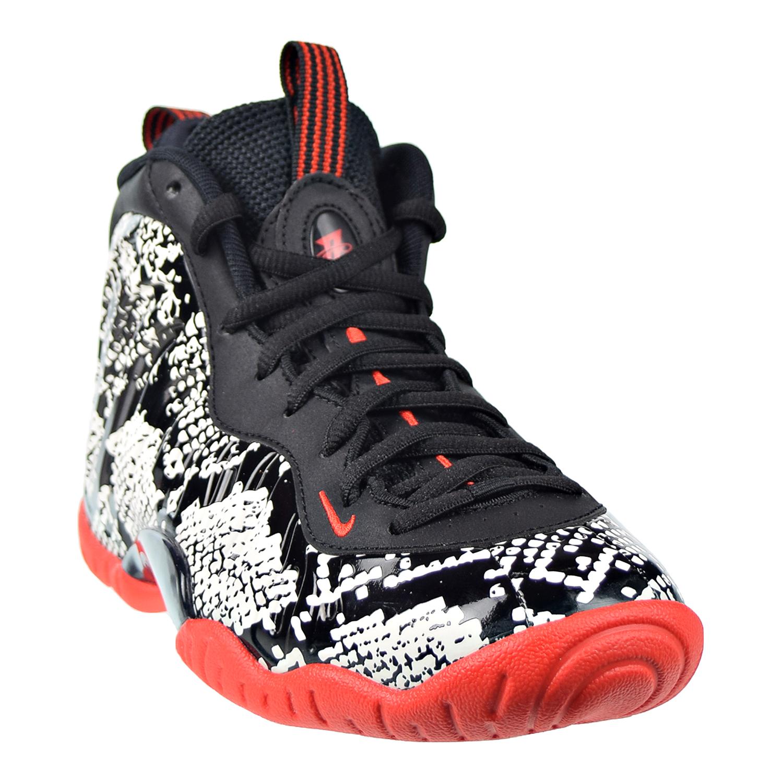 Estadio Niños Negociar  Nike Little Posite One (GS) Big Kids Shoes Sail-Habanero Red-Black  644791-104 | eBay