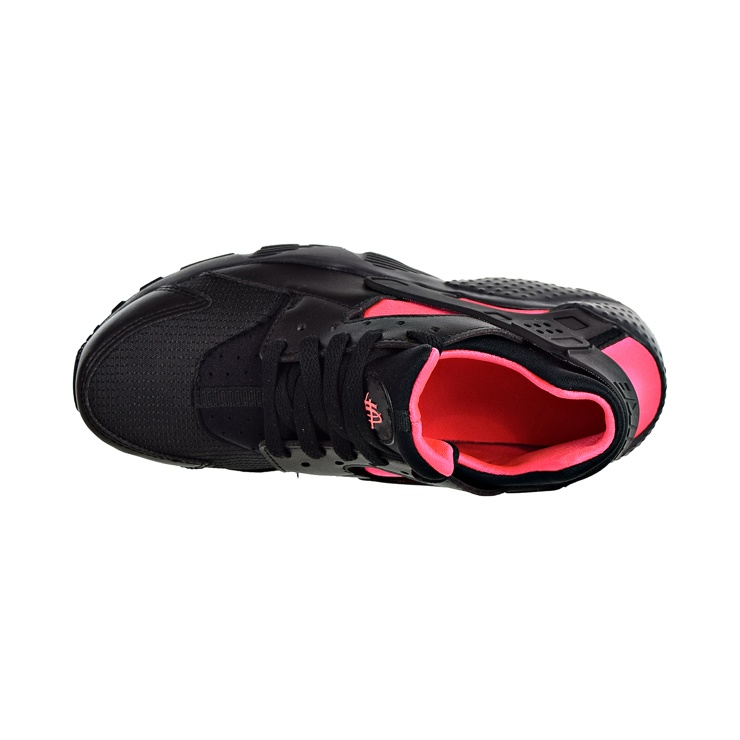 b7bc73ee7c Nike Huarache Run Big Kids' Shoes Black/Anthracite/Solar Red 654275-037