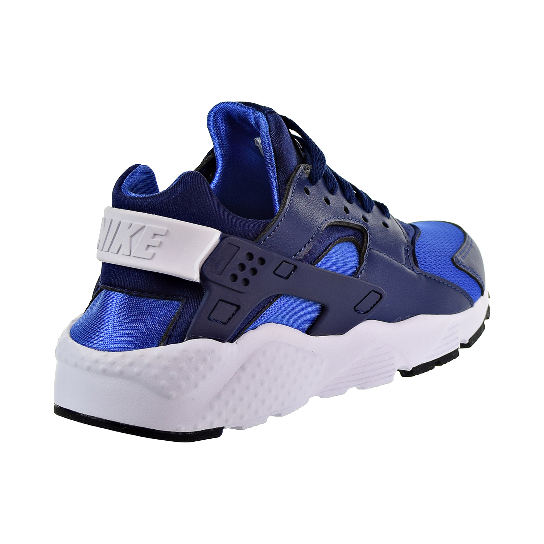 arrives 2f375 ca862 Nike Huarache Big Kids  Shoes Blue Void Game Royal Black White 654275-415