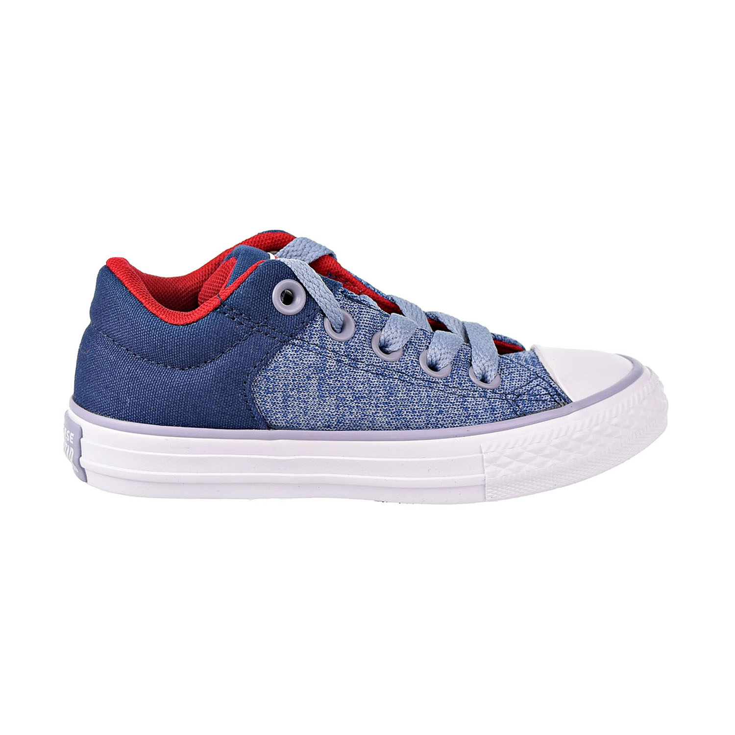 3bb672da85 Details about Converse Chuck Taylor All Star High Street Slip Kids  Shoes  Navy Grey 660721F