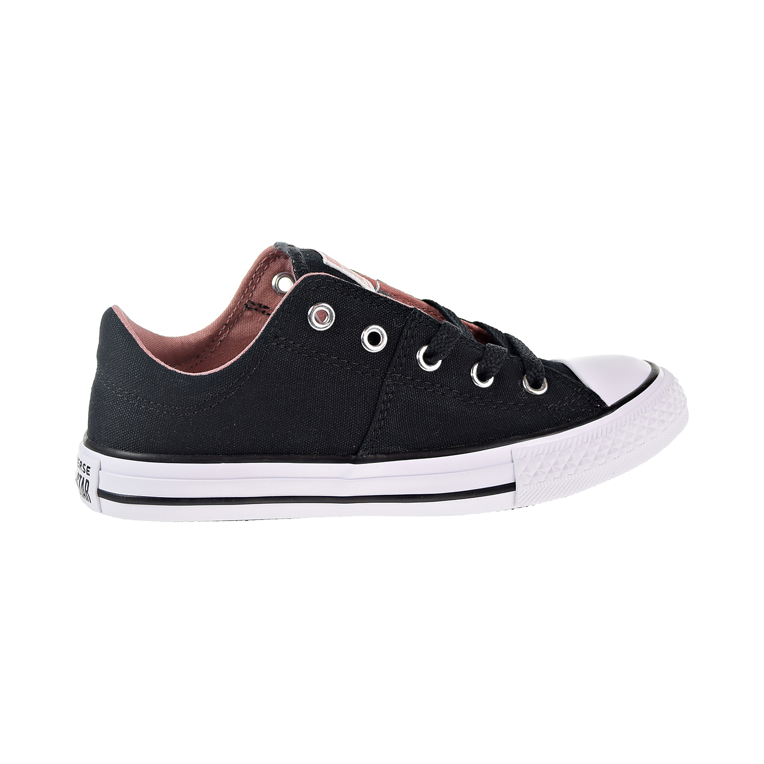 7d53249d58a7 Details about Converse Chuck Taylor All Star Madison Ox Little Big Kids  Shoes Black 661882F