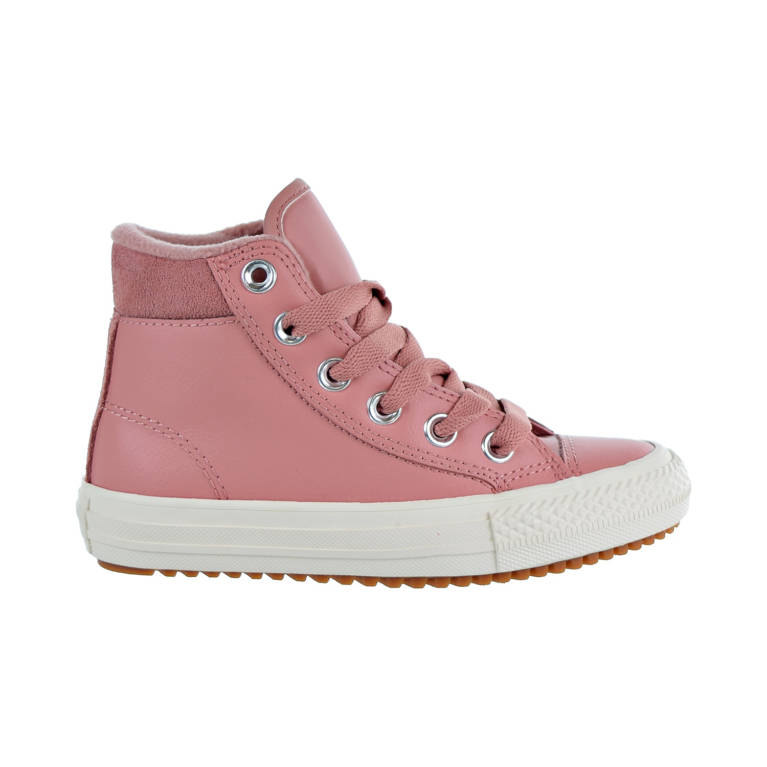 fc0390cec490a6 Details about Converse Chuck Taylor All Star PC Boot Hi Kids Shoes Pink Burnt  Caramel 661905c