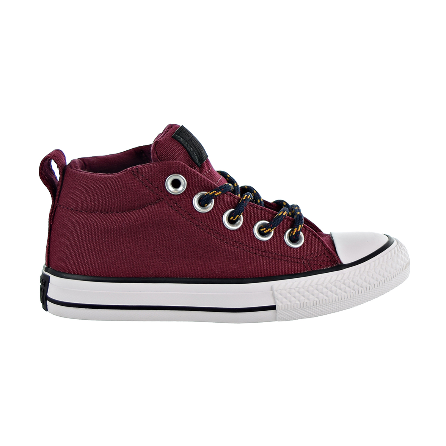 00c81e0bfb23 Details about Converse Chuck Taylor All Star Street Mid Big Kids  Shoes Dark  Burgundy 662339F