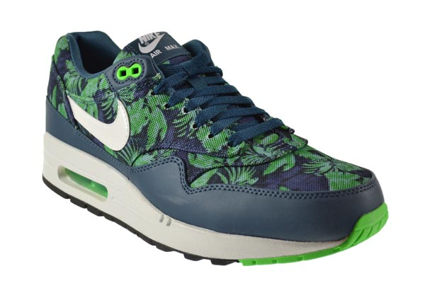 size 40 b4b0e 581c1 Nike Air Max 1 GPX Men s Shoes Space Blue White-Black Jade 684174-400