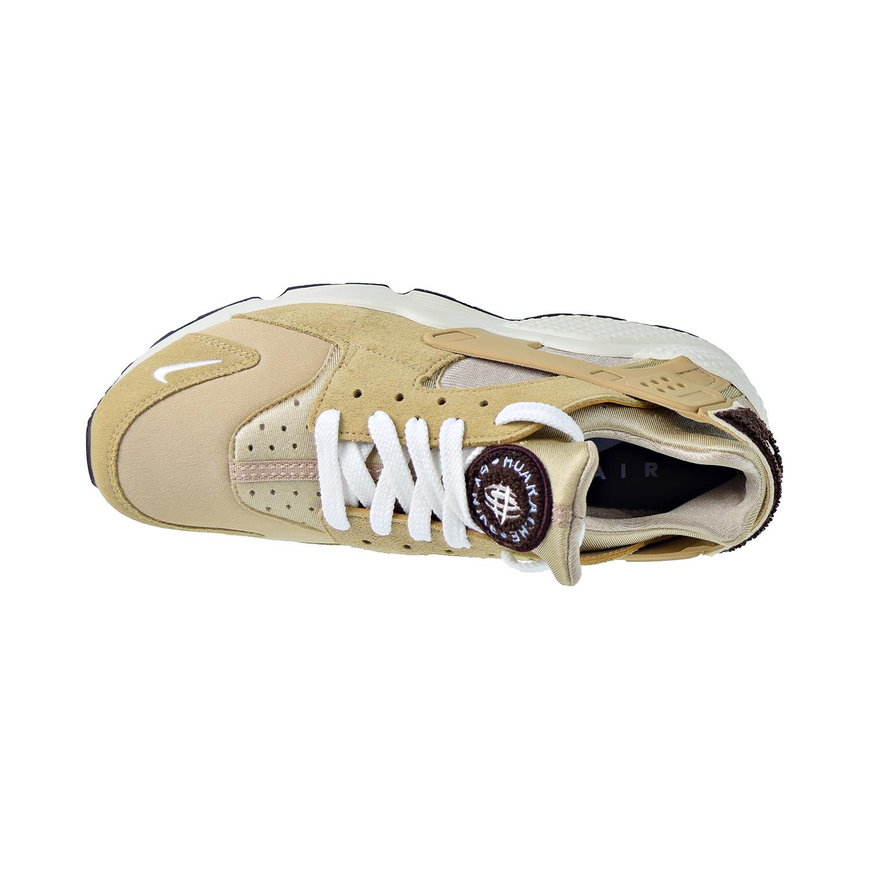 7c0b592b7b8d2 Details about Nike Air Huarache Run PRM Mens Shoes Desert/Sail/Burgundy Ash  704830-202