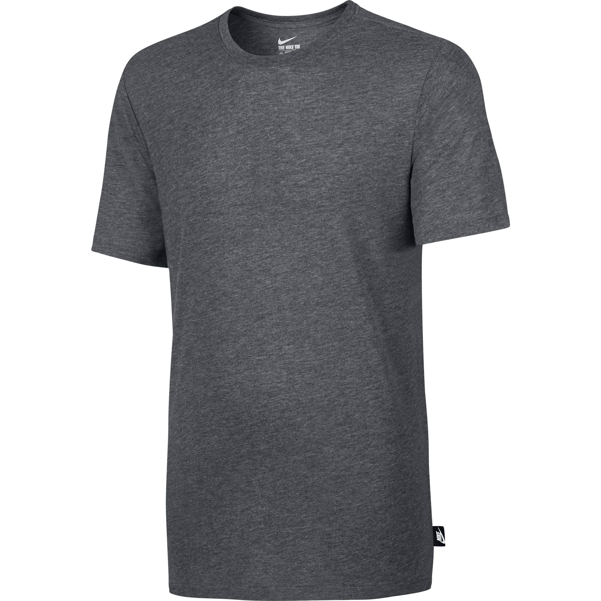 Nike Solid Futura Men/'s Casual Athletic T-Shirt Black//White 708336-010