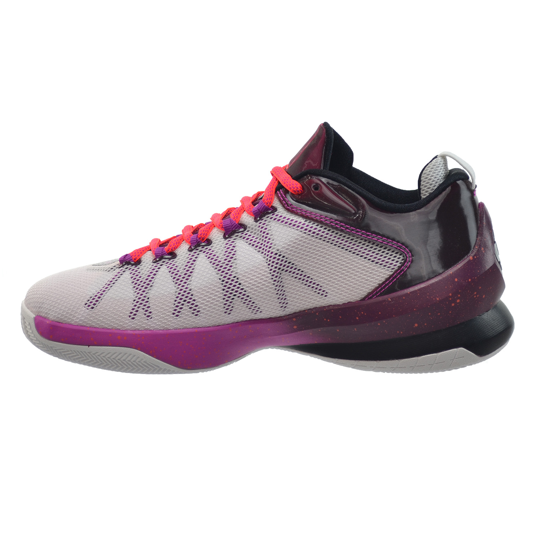 3e0ad4c43f5e63 Jordan CP3.VIII AE BG Big Kids Shoes White Infrared-Bordeaux-Fuchsia 725174- 113