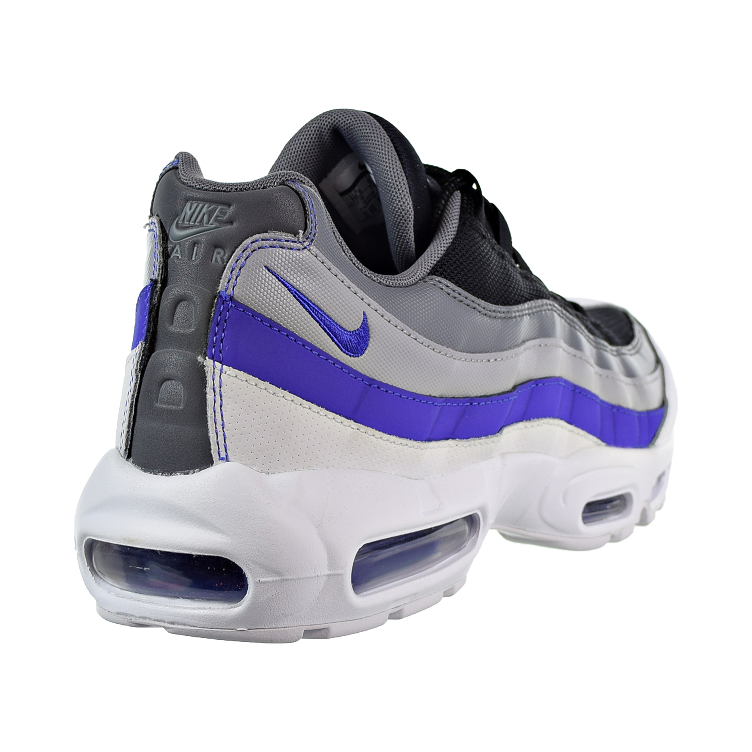 promo code eb3a2 150fe Nike Air Max 95 Essential Men s Shoes White Persian Violet Cool Grey 749766- 110