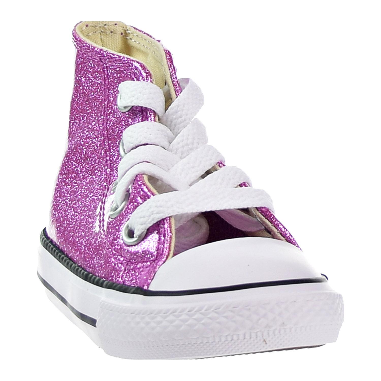 Converse CTAS HI Toddlers  Shoes Bright Violet Natural White 760049C ... 05ab417a3