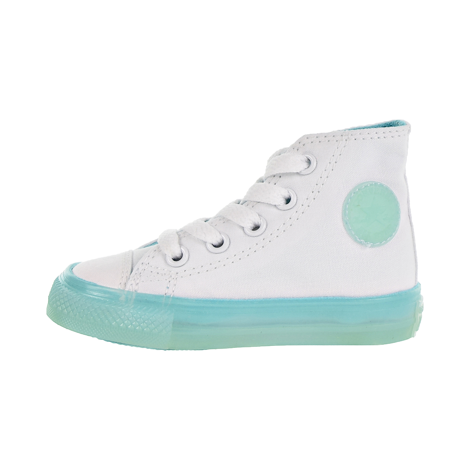 7e04bed2a991 Converse Chuck Taylor All Star Hi Toddler Shoes White Bleached Aqua 760718c