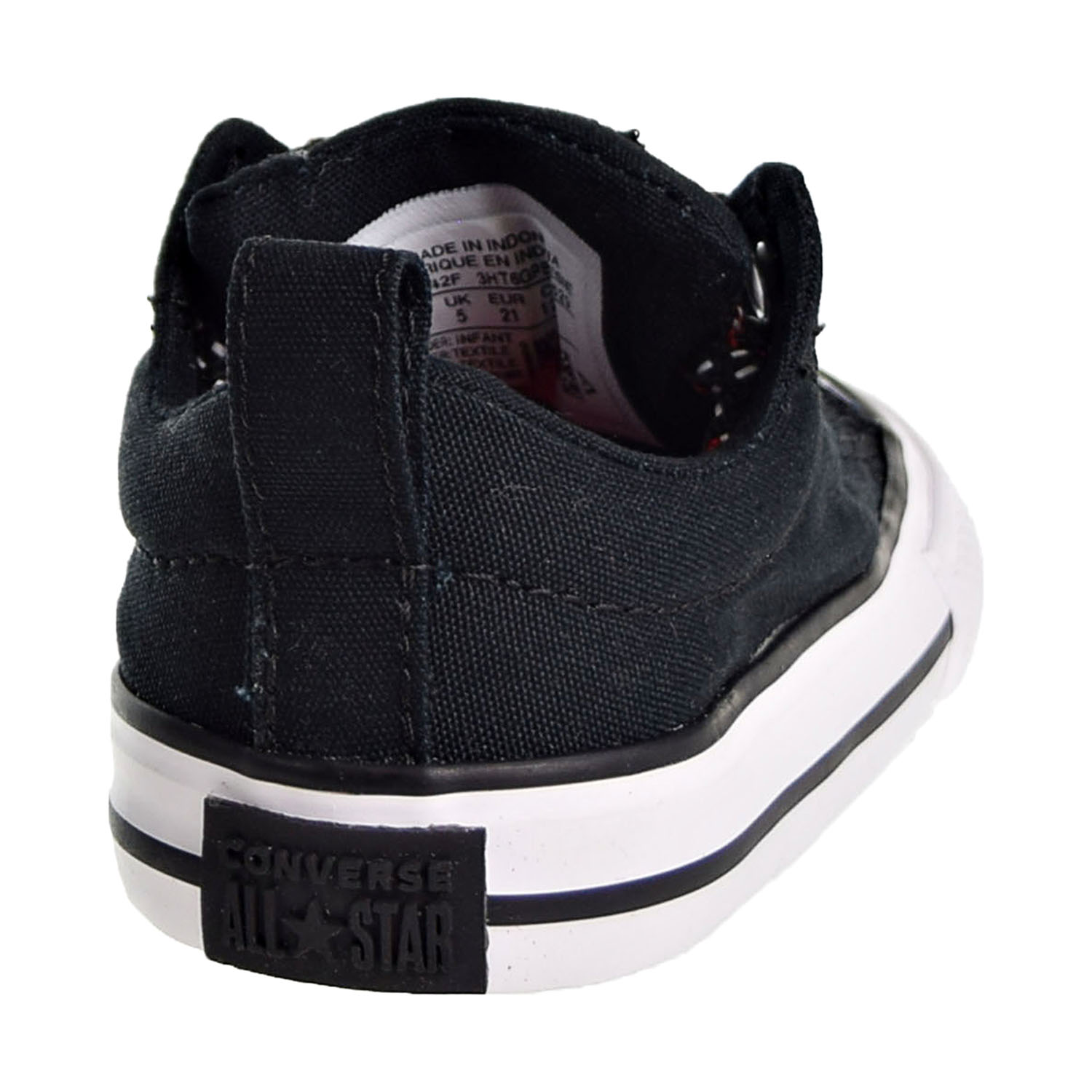 Converse Chuck Taylor All Star Street Slip Toddler s Shoes Black  Enamel Red  762342f 52d19da0b