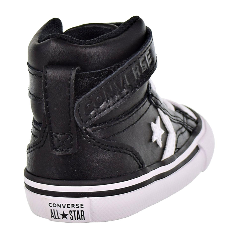 c94dfd44dfa6 Converse Pro Blaze Strap Hi Toddler s Shoes Black White 763532C