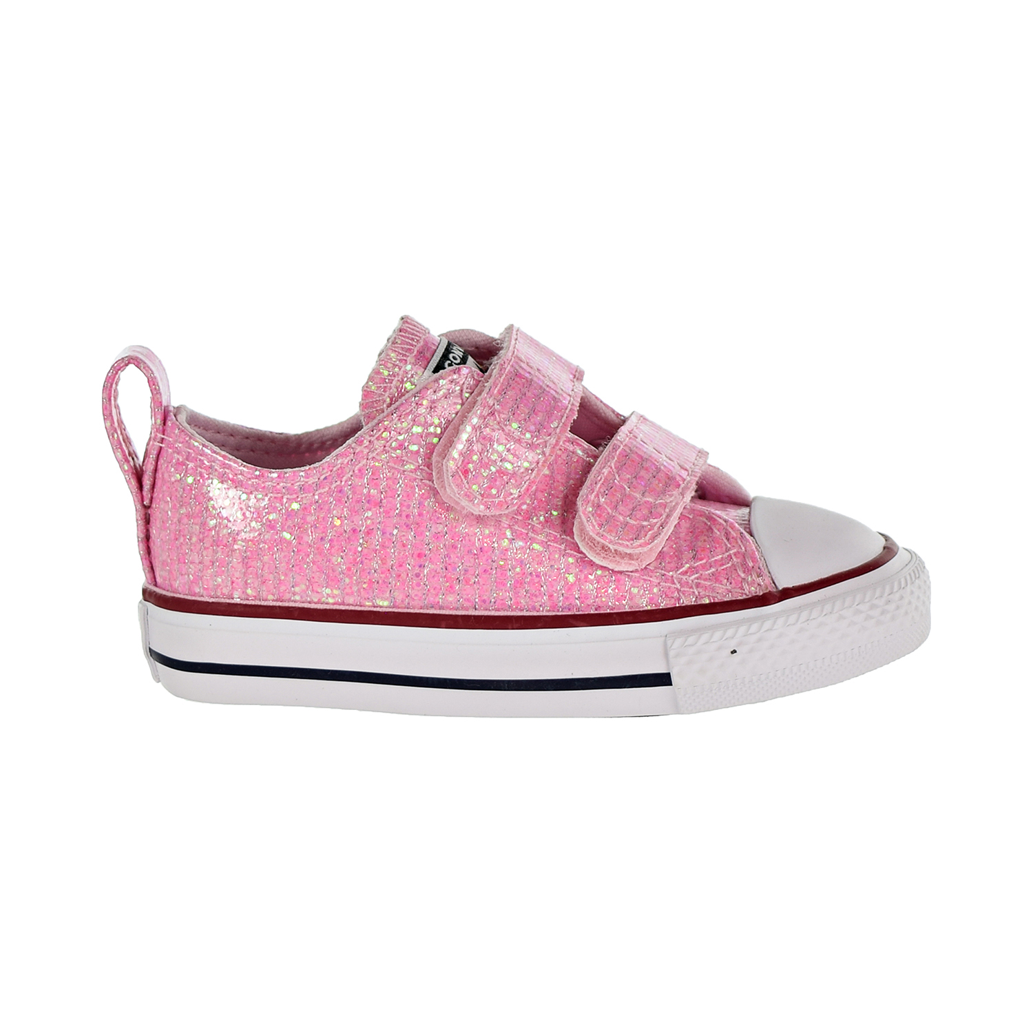 e265d176910 Details about Converse Chuck Taylor All Star 2V Ox Toddler's Shoes Pink  Foam 763550C