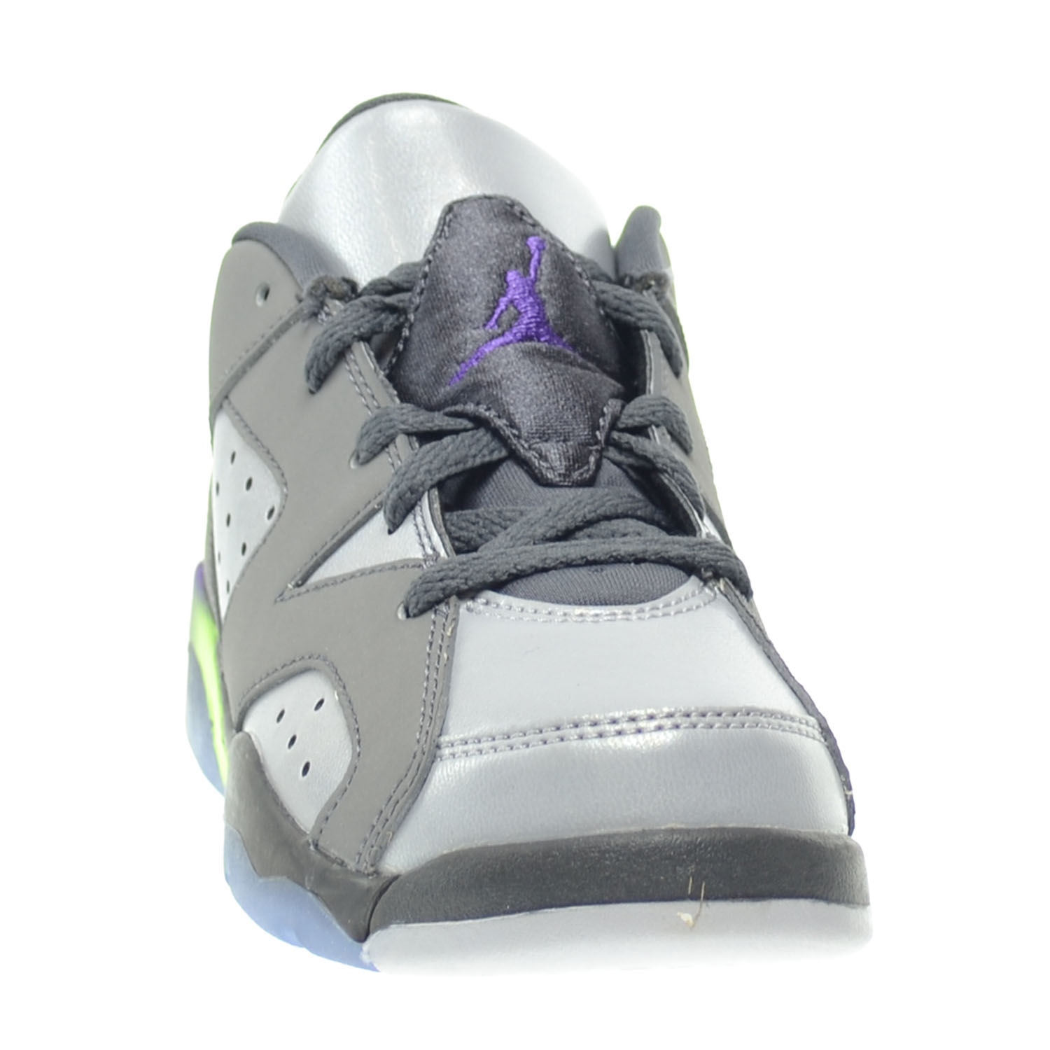 a96cc4d178ed Jordan 6 Retro Low GP Little Kids Shoes Dark Grey Ultraviolet-Wolf Grey-Ghost  Green 768884-008