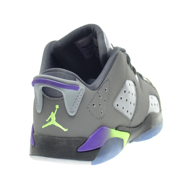 best website 41281 c03a0 Jordan 6 Retro Low GP Little Kids Shoes Dark Grey Ultraviolet-Wolf Grey-Ghost  Green 768884-008