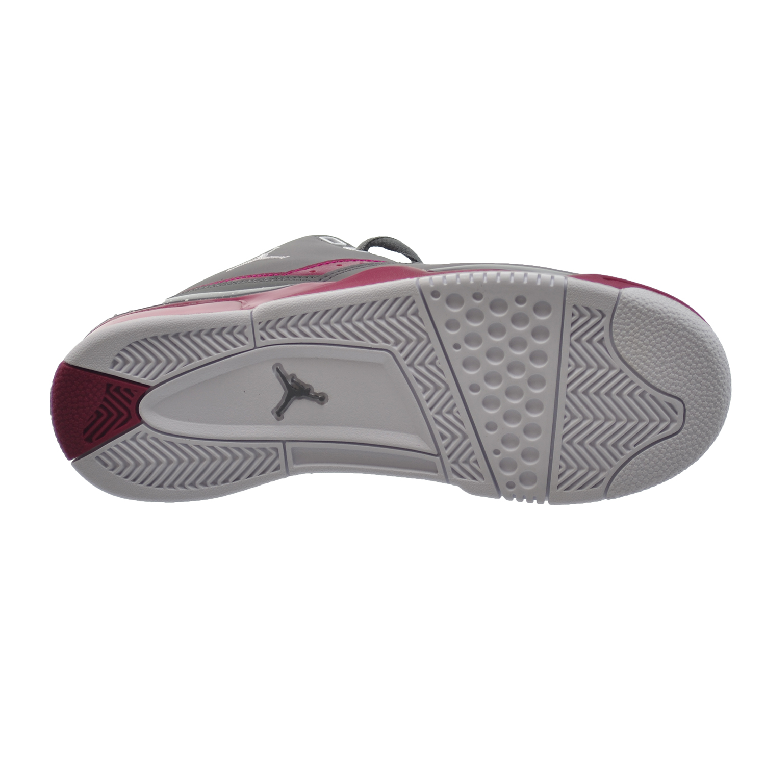 a9e9d4552d7d99 Jordan Flight 23 GG Big Kids  Shoes Cool Grey White-Sport Fuchsia 768910-026