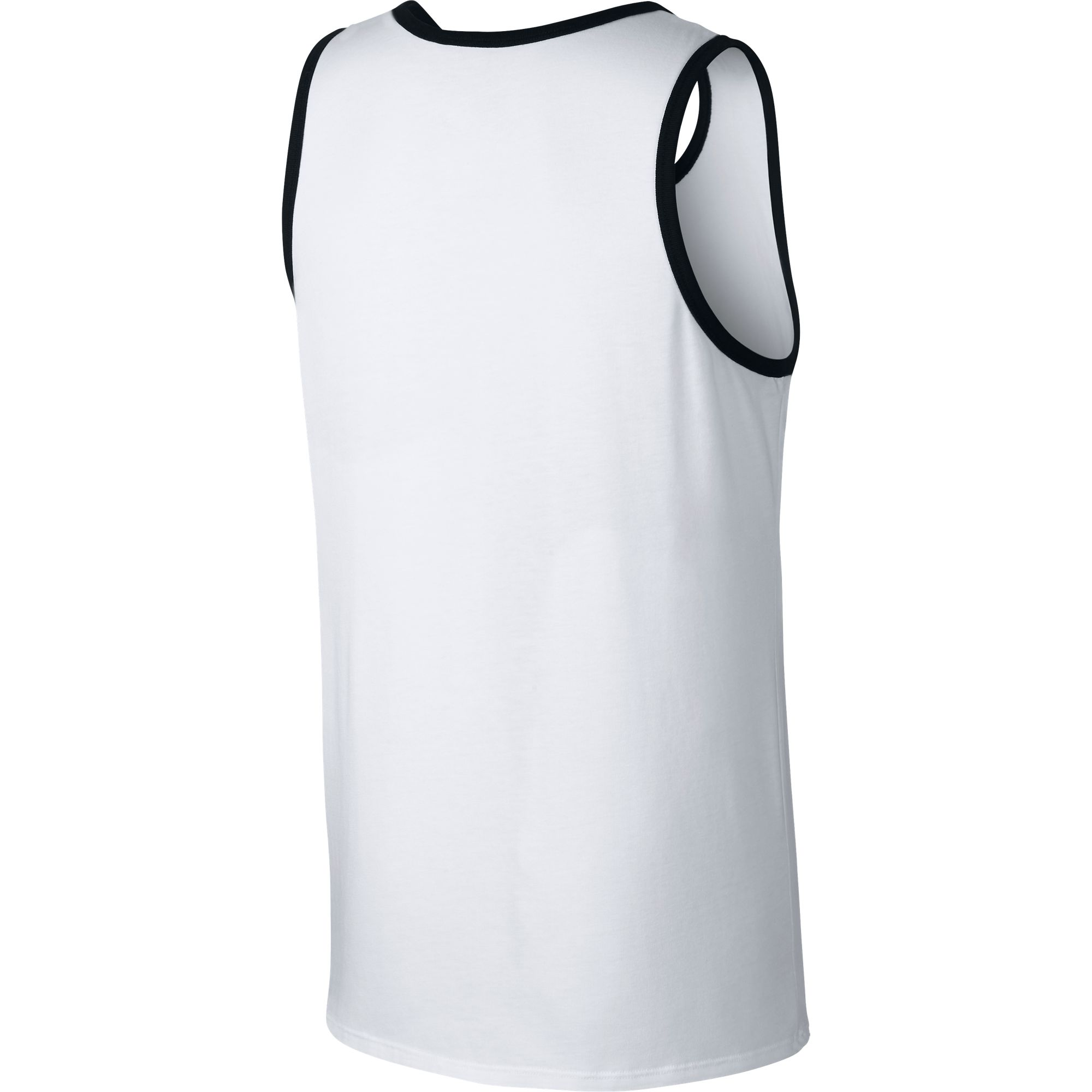 e282b1d28f5f4 Nike Ace Logo Men s Tank Top White Black Black 779234-100