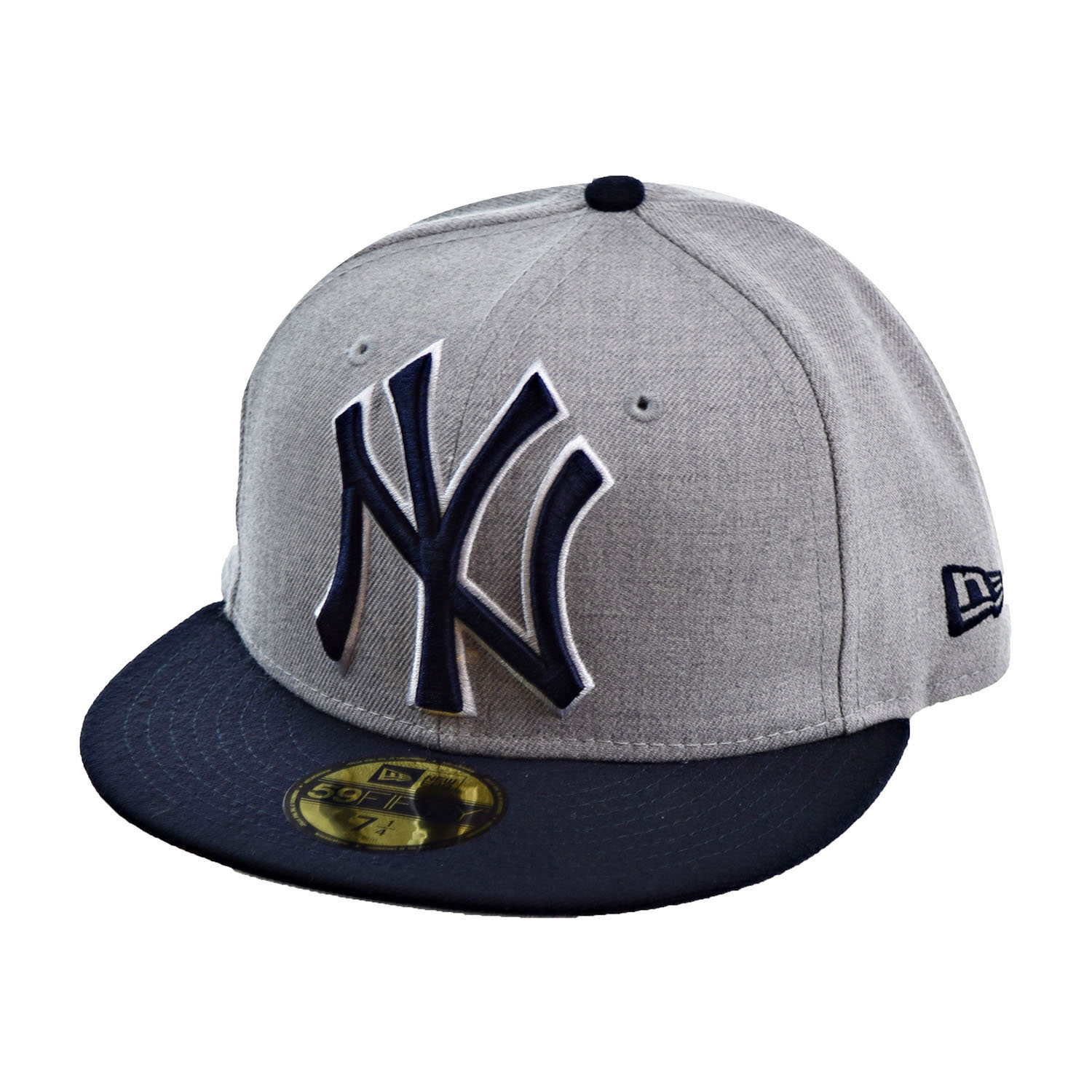43dfaa349d2 ... discount code for new era new york yankees heather grand fitted 59fifty  mens fitted hat cap