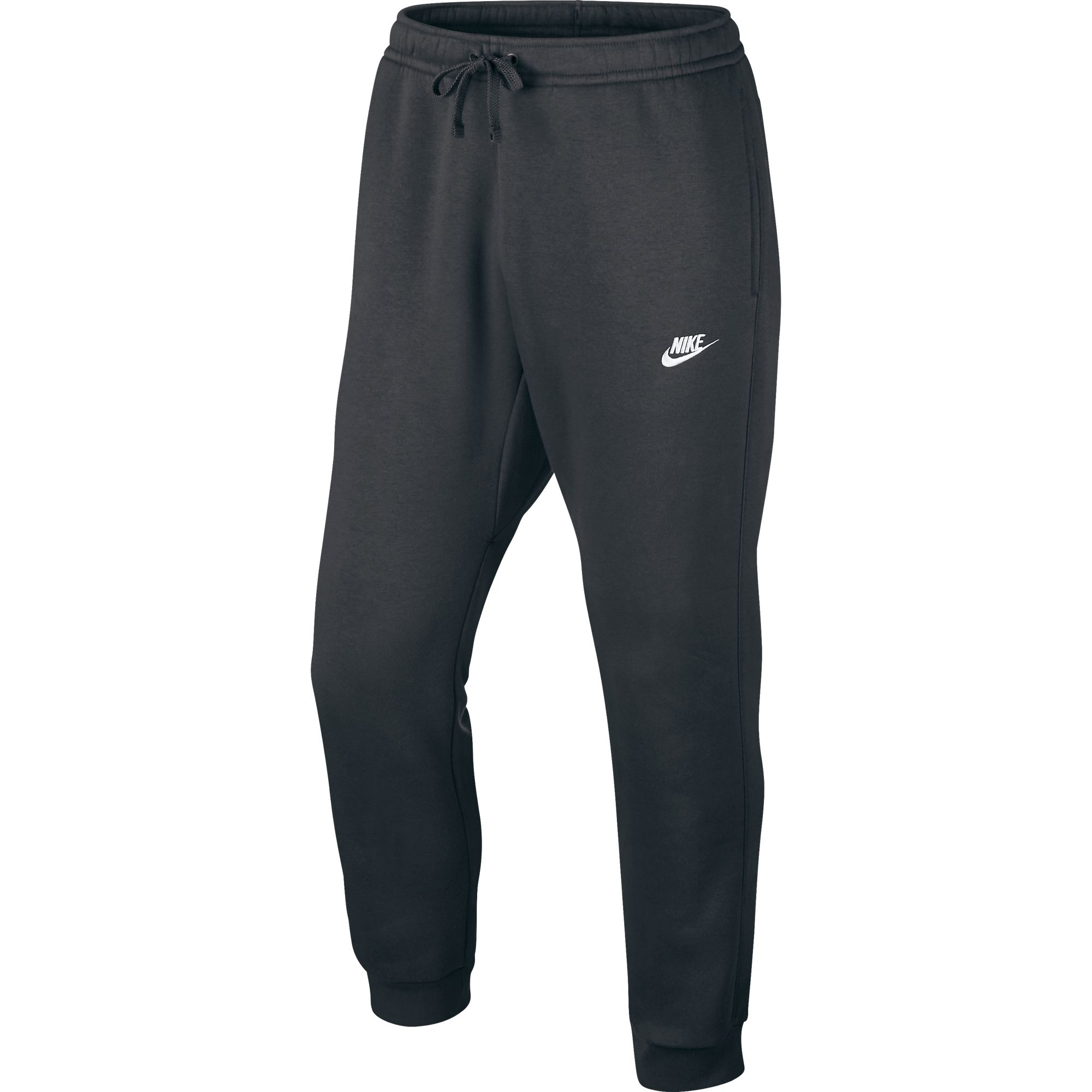 7ab4989282aa Details about Nike Club Fleece Sportswear Men s Jogger Pants Dark Grey White  804408-071