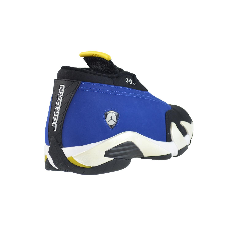 6dc9cf6125048c Air Jordan 14 Retro Low Men s Basketball Shoes Varsity Royal Black-White  807511-405