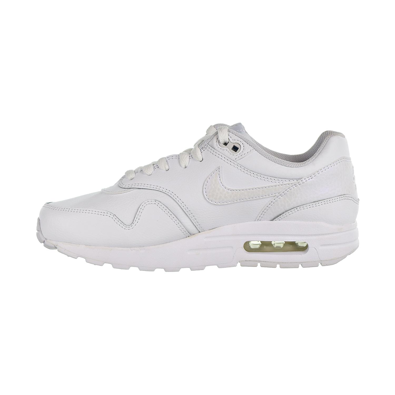 reputable site 3600b 8c7ef Nike Air Max 1 Big Kids  Shoes White Vast Grey 807605-105