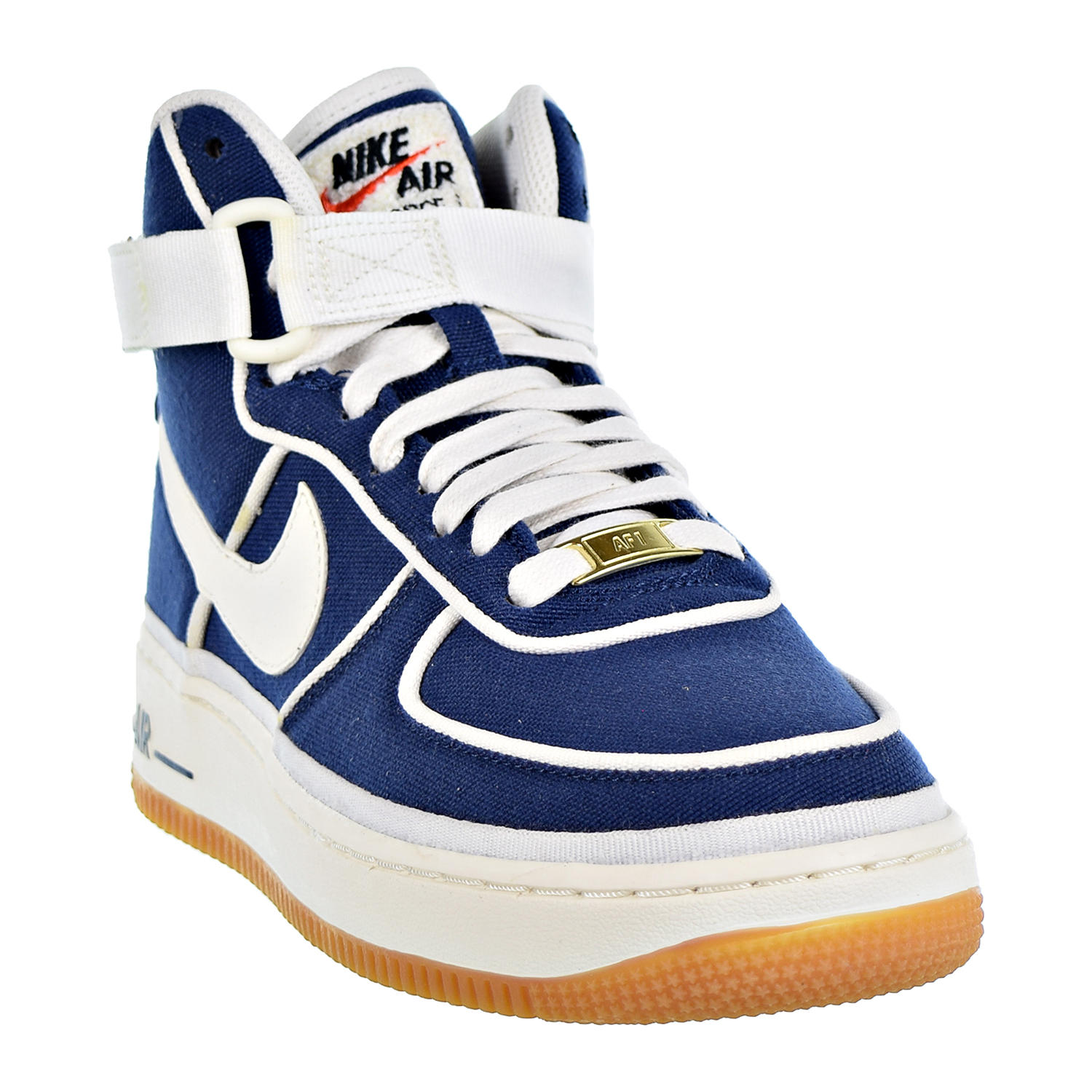 Details about Nike Air Force 1 High LV8 Big Kids' Shoes Binary Blue Sail Black 807617 400