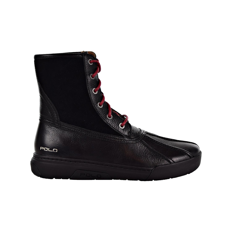 5ca8bc69c08 Details about Polo Ralph Lauren Declan Men's Boots Black/Black 809729624-001