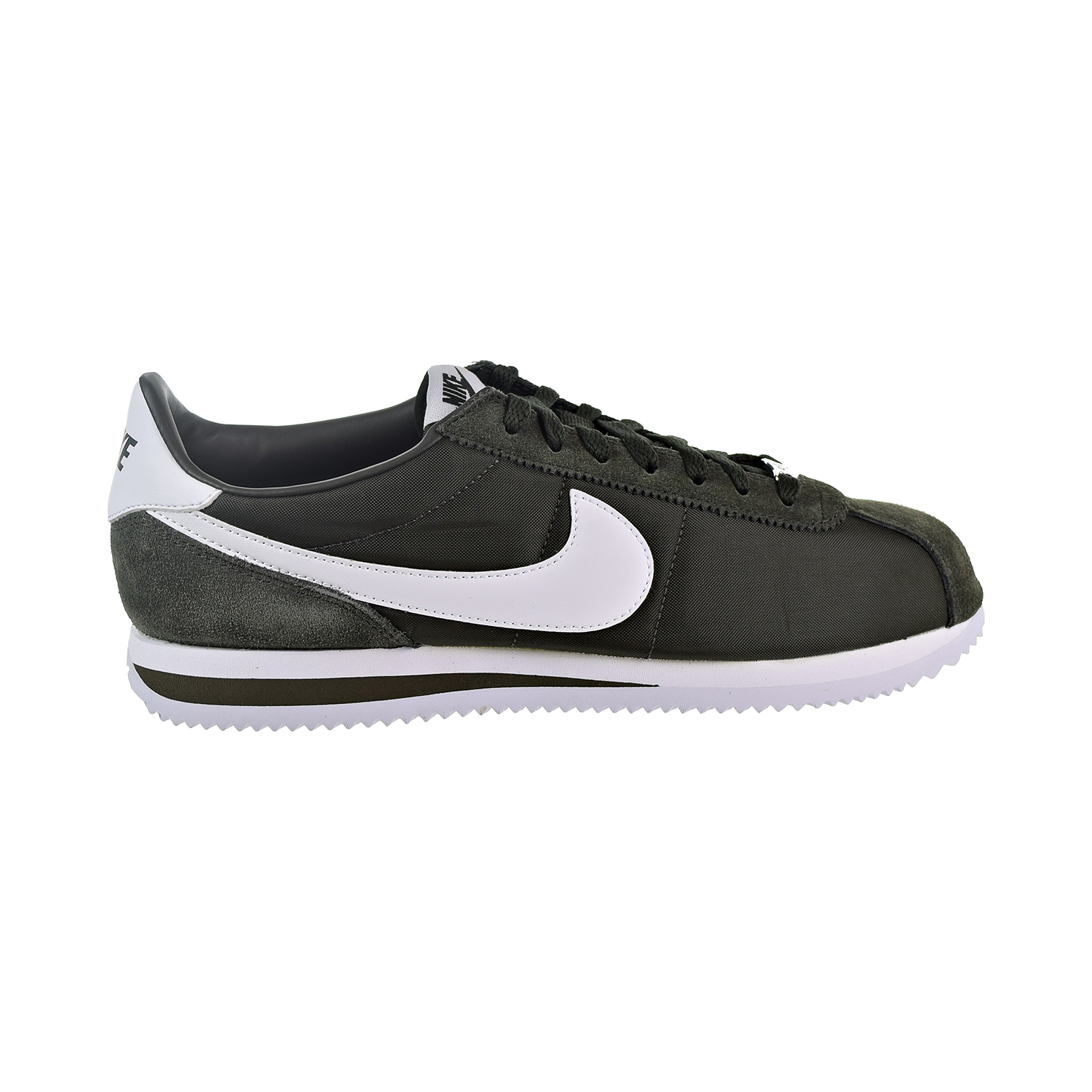 hot sale online 857c9 bd3b8 Details about Nike Cortez Basic Nylon Men's Shoes Sequoia/White 819720-301