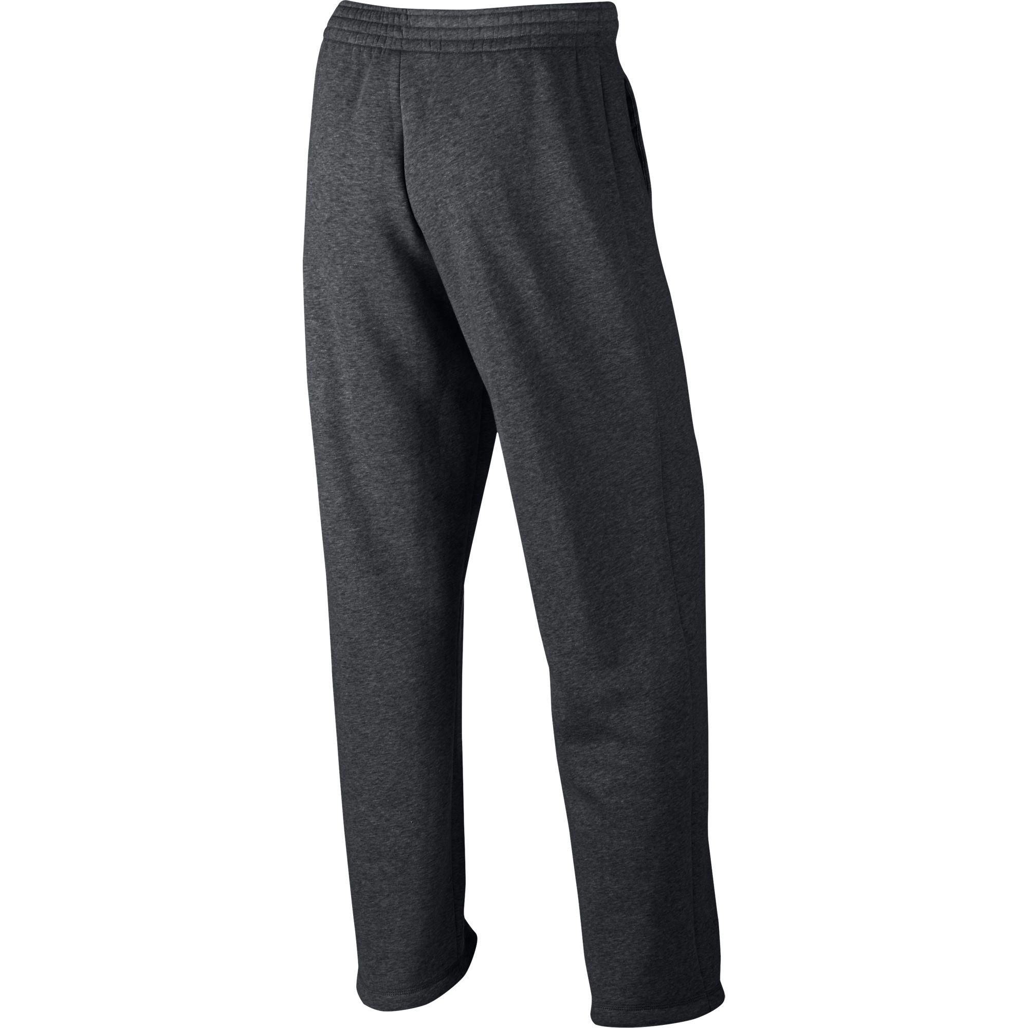 f5a3e98d22a0f4 Details about Jordan Flight Fleece Men s Open Hem Pants Grey Heather White  823073-071