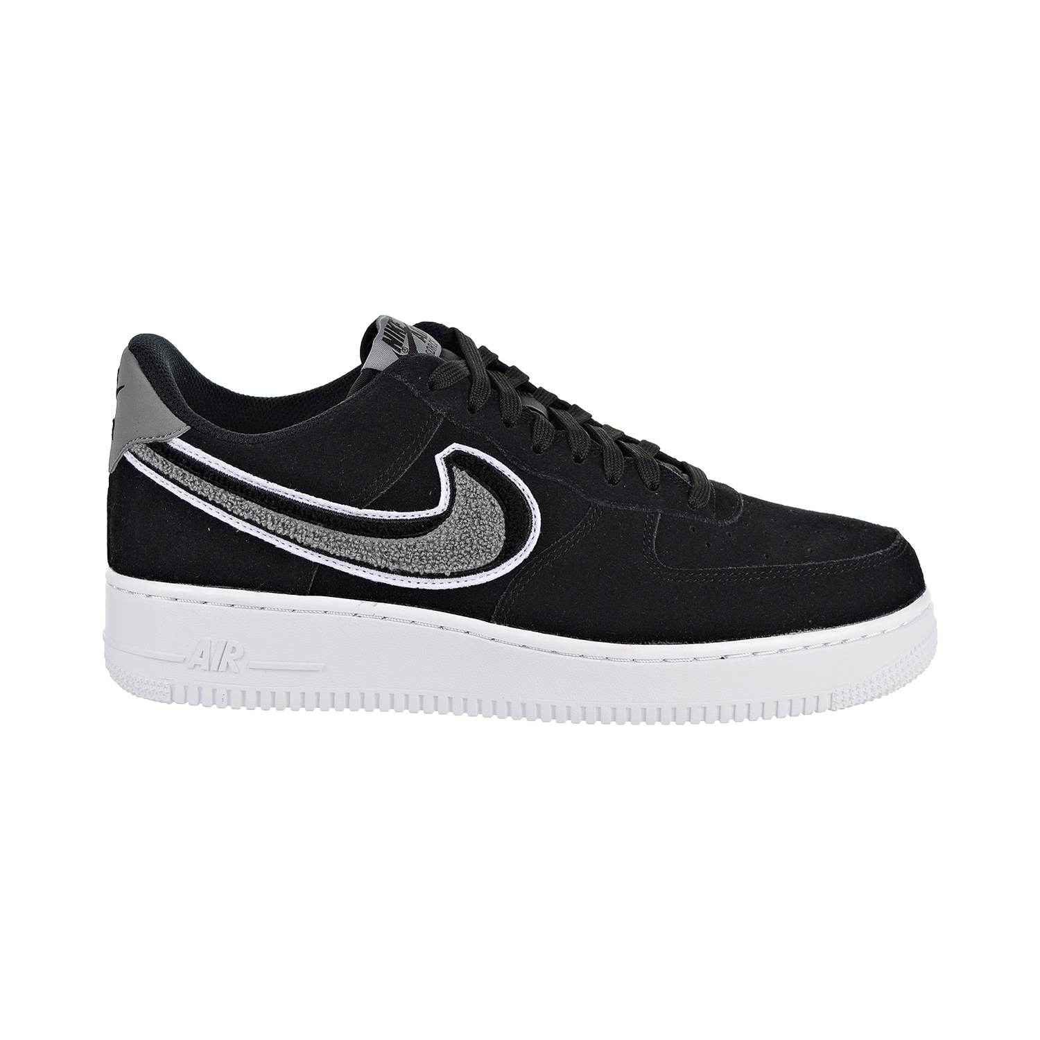 Details about Nike Air Force 1 Low 07 LV8 Men's Shoes Black Cool Grey White 823511 014