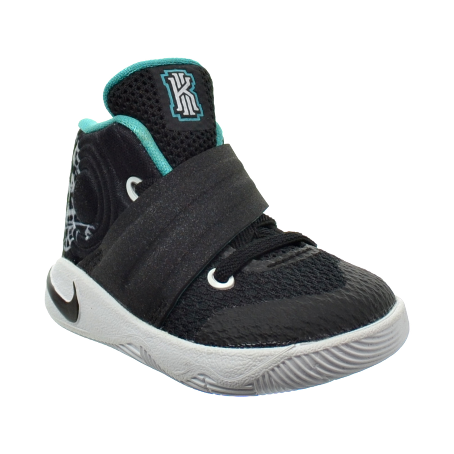 Boys/' Toddler Nike Kyrie 2 Basketball Shoes Mid Navy  Gold 827281 447 NO BOX TOP