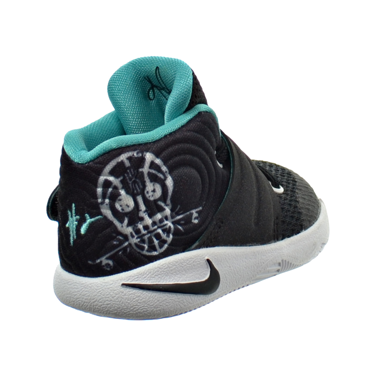 size 40 48409 598cb Details about Nike Kyrie 2 (TD) Toddler's Shoes Black/Hyper Jade/White  827281-001