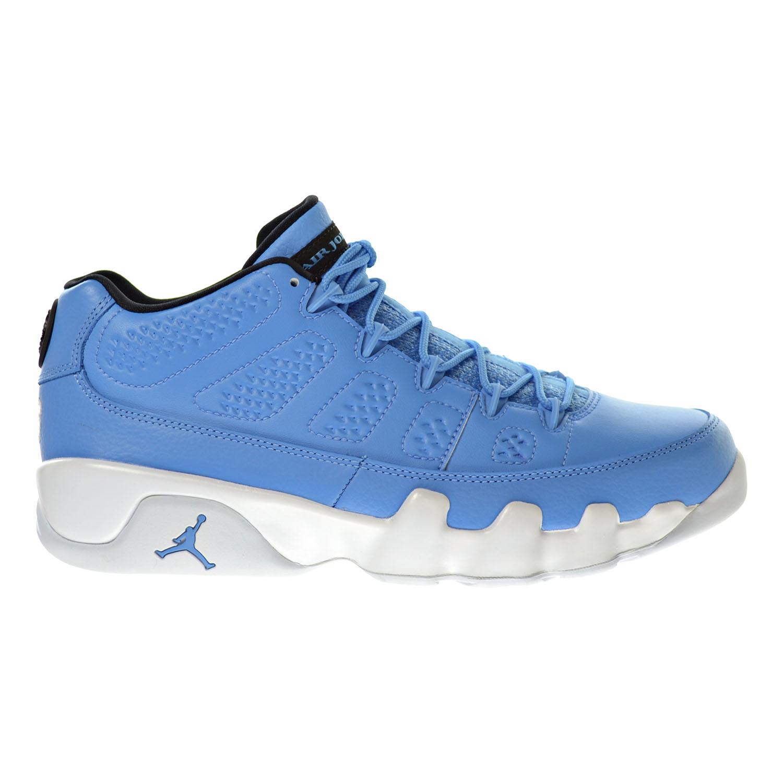 8ac420519f292d Details about Air Jordan 9 Retro Low Men s Shoes University  Blue White Black 832822-401