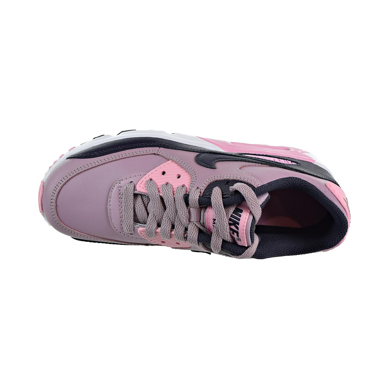 8668969c9c Nike Air Max 90 Leather Big Kids' Shoes Elemental Rose/Gridiron/Pink/White  833376-602