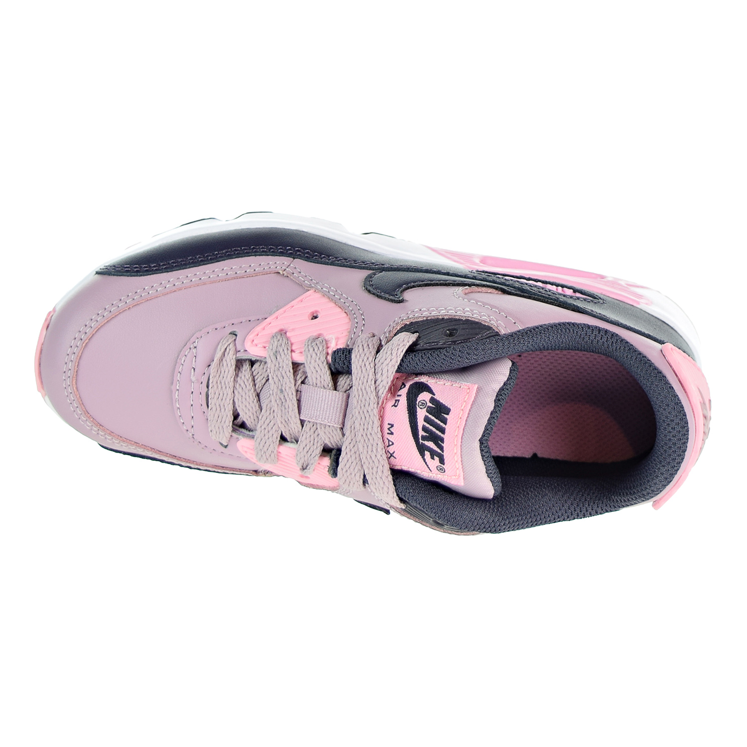 super popular d133a 837dc Nike Air Max 90 LTR Big Kids Shoes Pink 833377-602