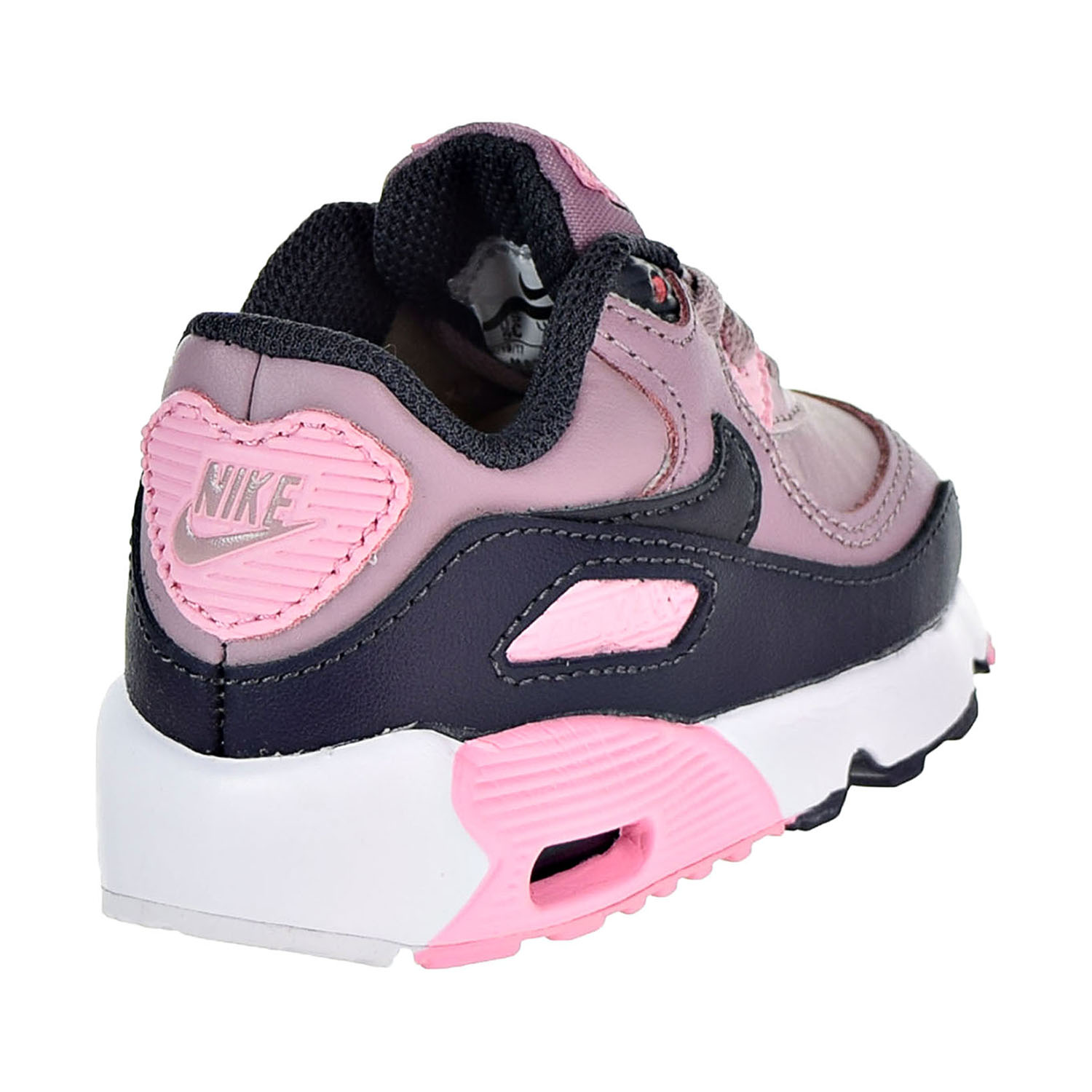 794440227 Nike Air Max 90 Leather Toddler s Shoes Elemental Rose 833379-602