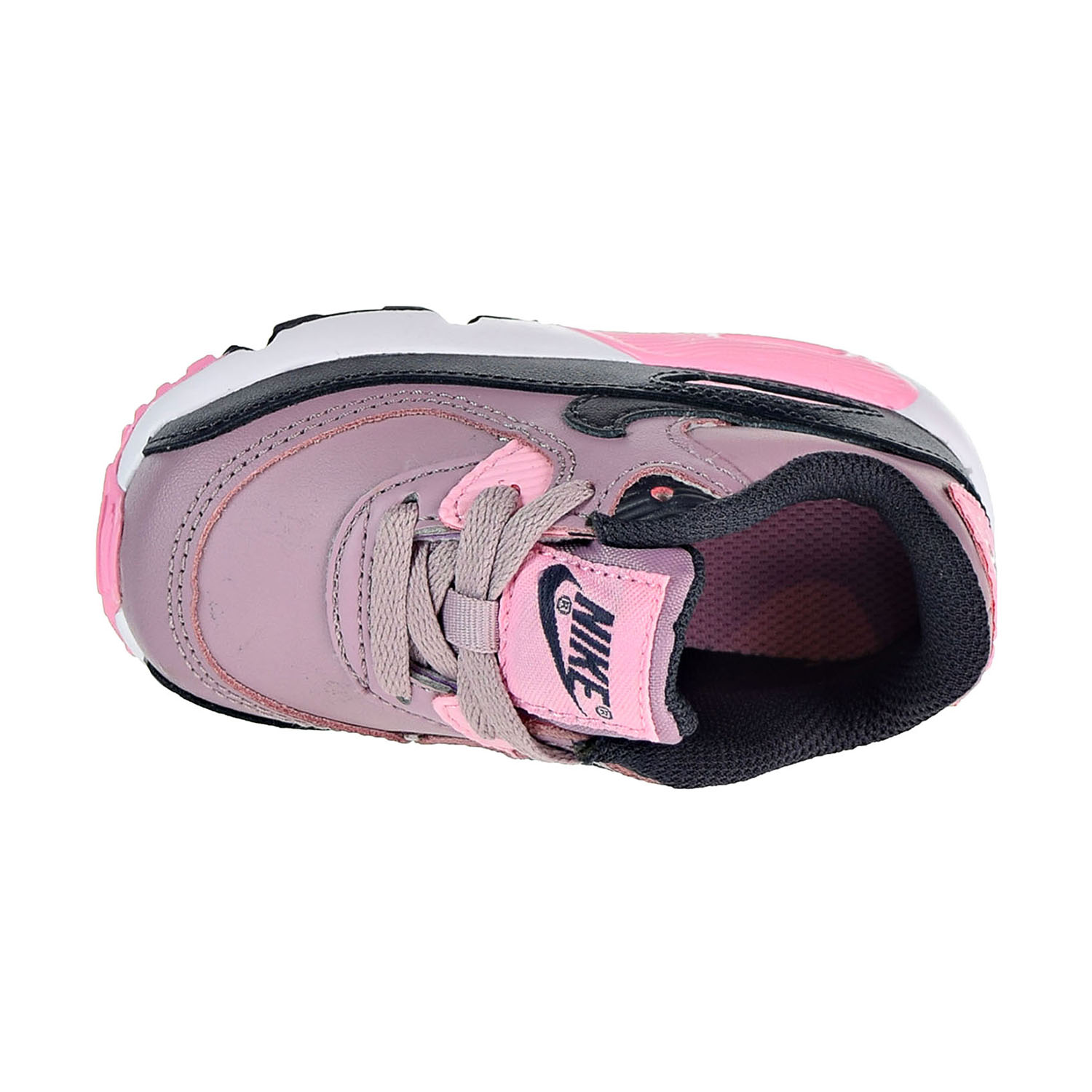 check out ee4ed 73216 Nike Air Max 90 Leather Toddler s Shoes Elemental Rose 833379-602