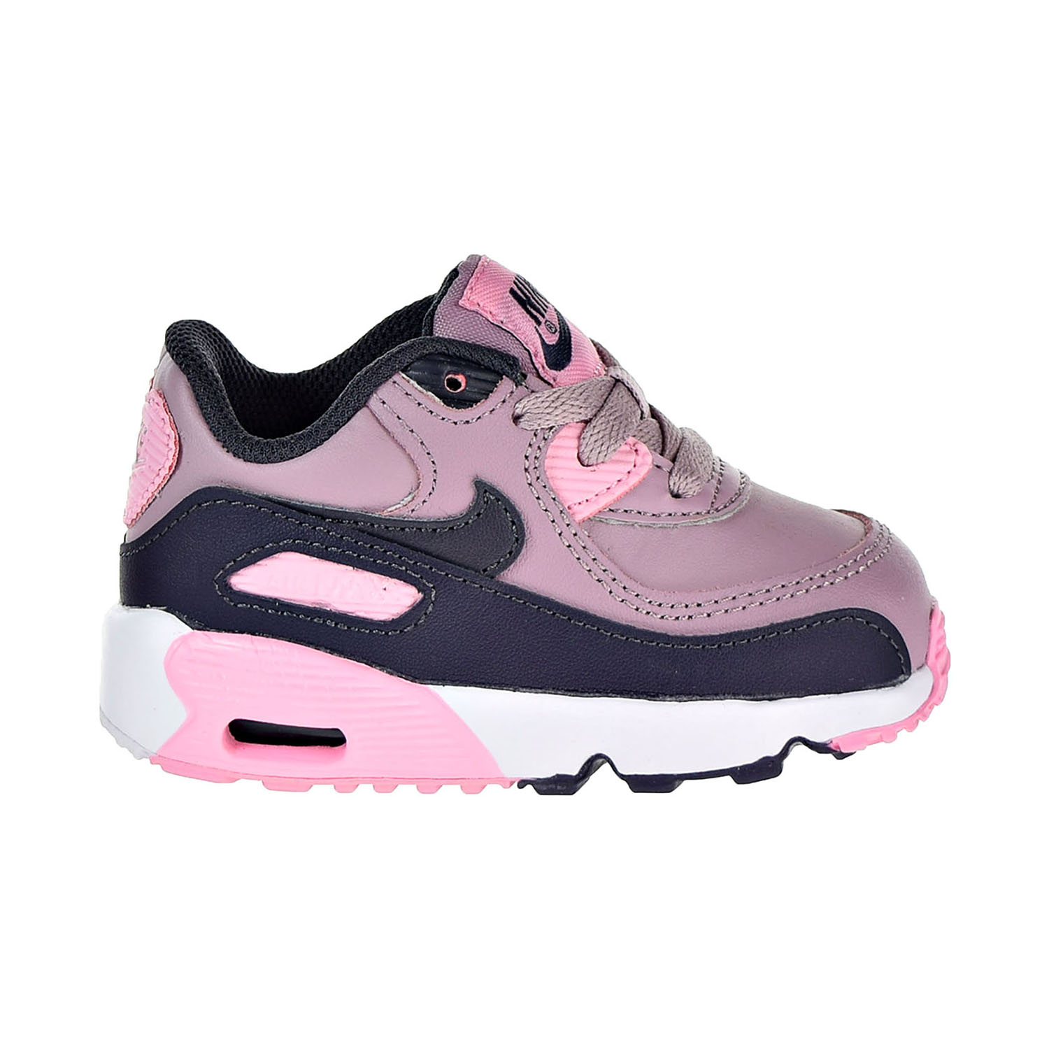 8cfb37fa998 Details about Nike Air Max 90 Leather Toddler s Shoes Elemental Rose  833379-602