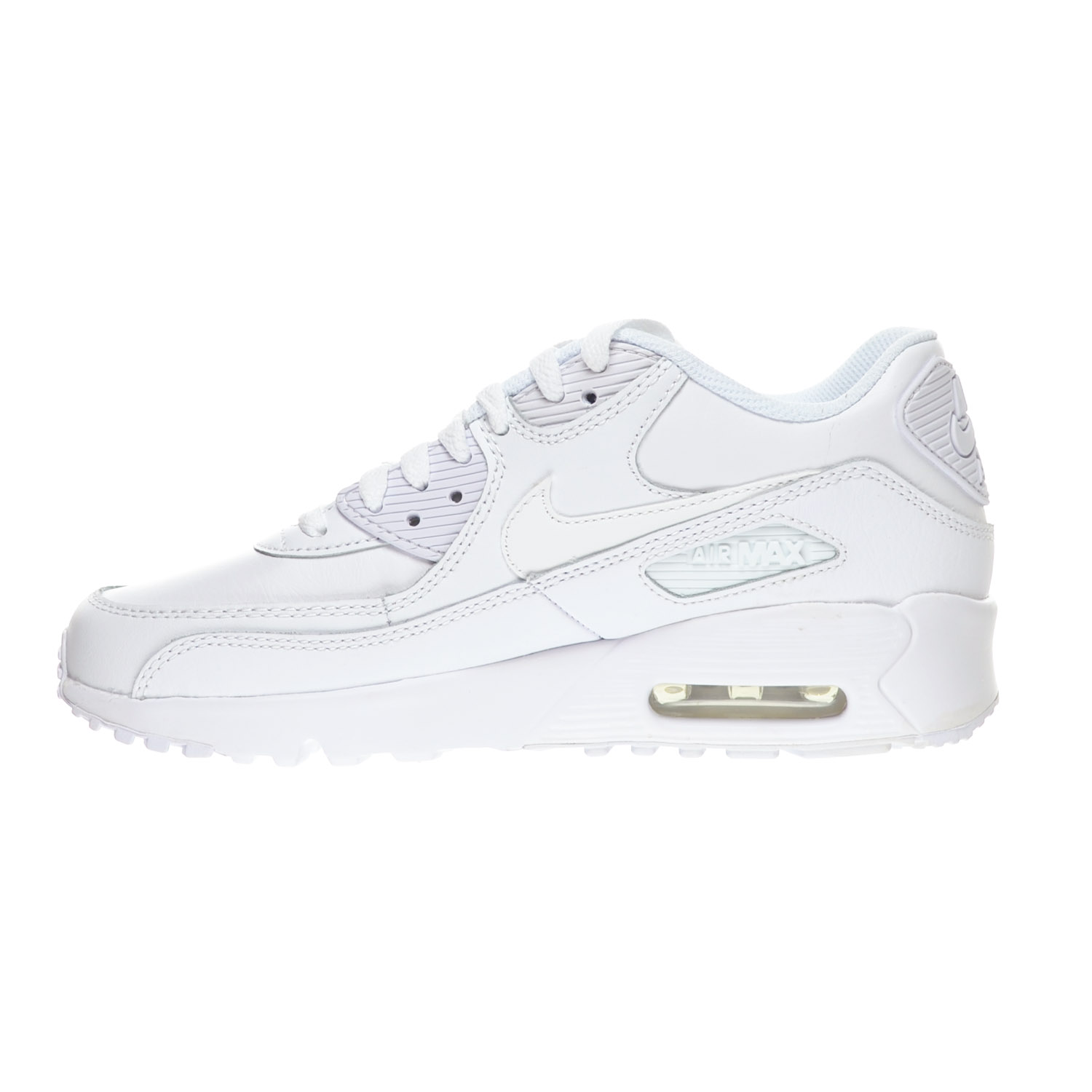 premium selection 10dda 2fcd2 Details about Nike Air Max 90 LTR (GS) Big Kid s Shoes White 833412-100