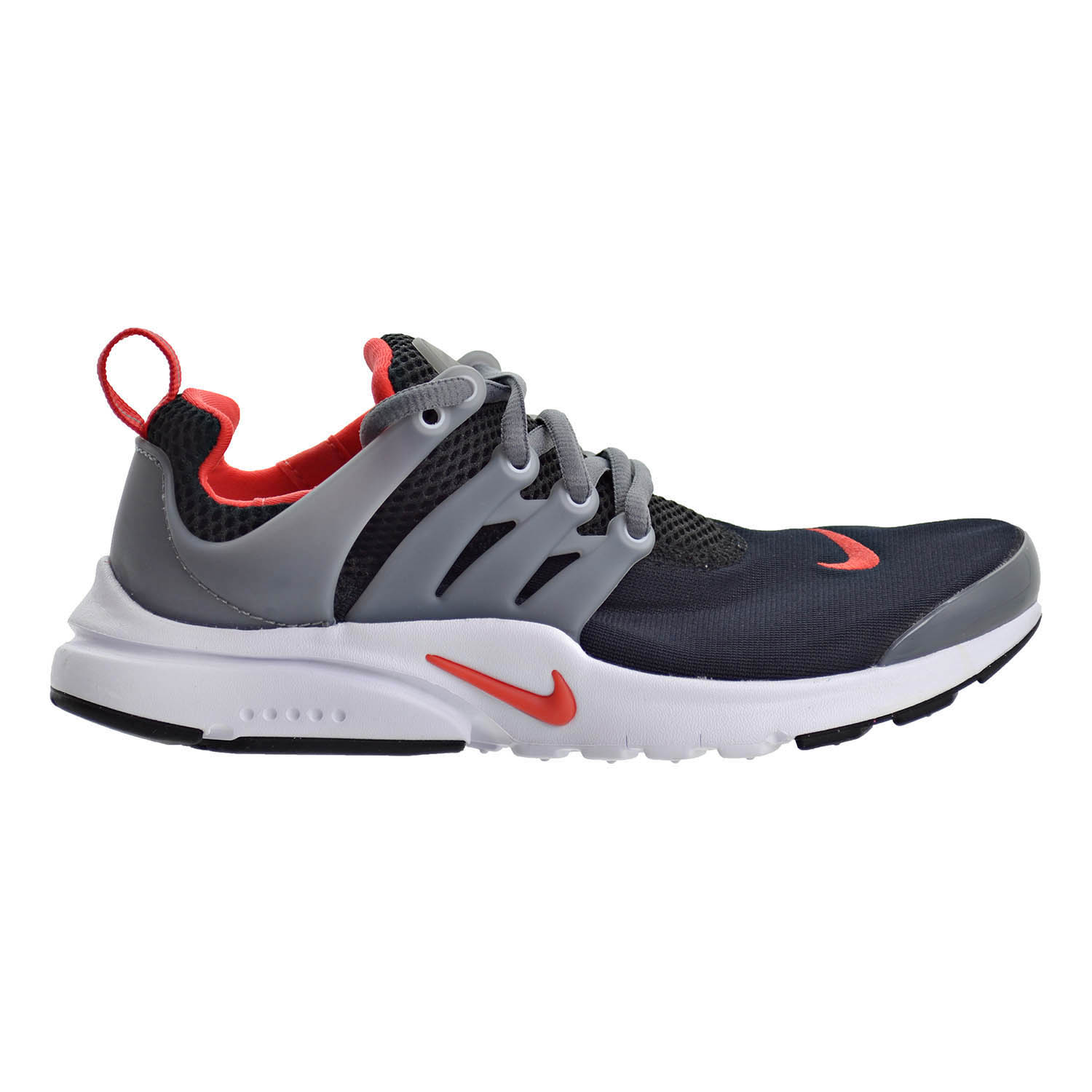 8ef64f860e17 Details about Nike Presto (GS) Big Kids Running Shoes Black Max Orange Cool  Grey 833875-011