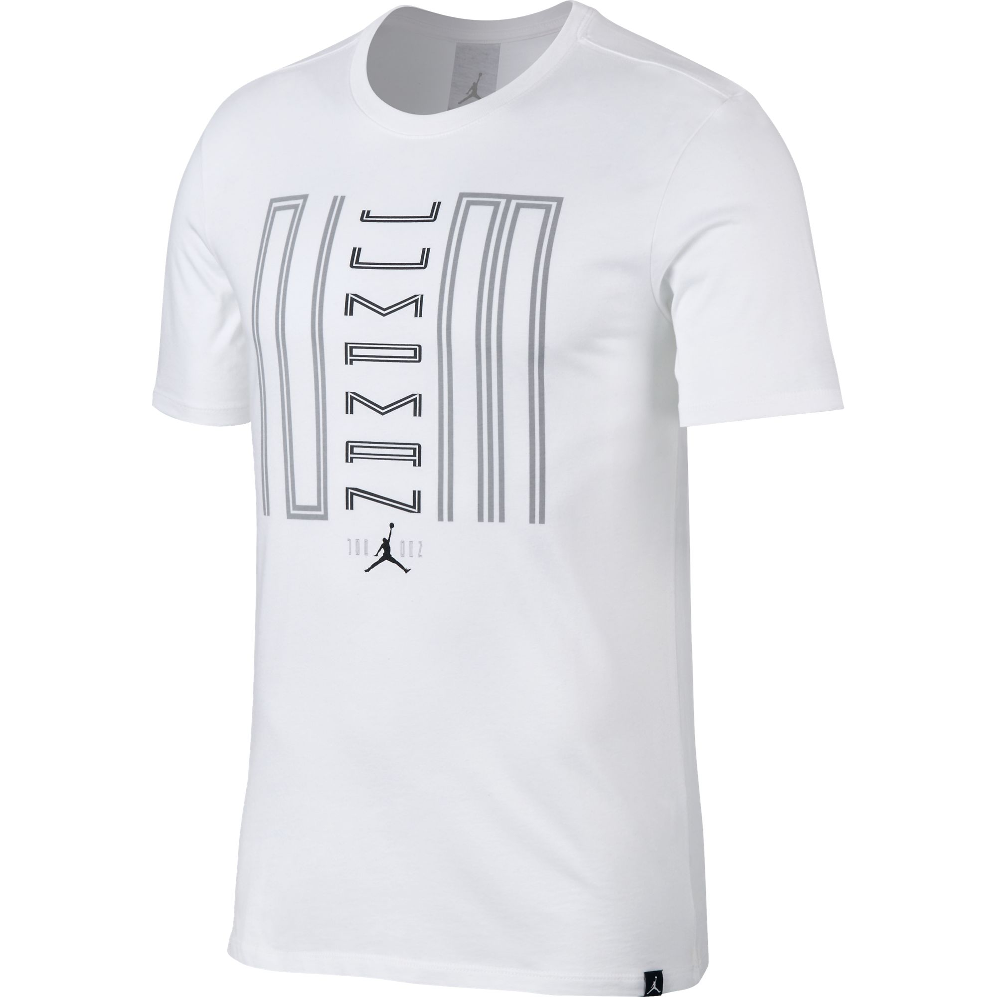 dc047b13aa54 Details about Jordan 11 Jumpman 23 Men s Sportswear Casual T-Shirt White Black  844282-101